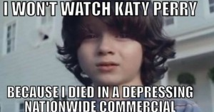 Bizarre commercial